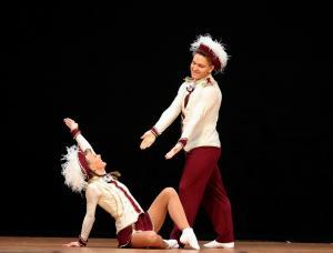 kl Tanzpaar Maja Heitjans  Artur Schweizer, Platz 2