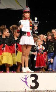 Junioren-Tanzmariechen Finja Raußen PLatz_3