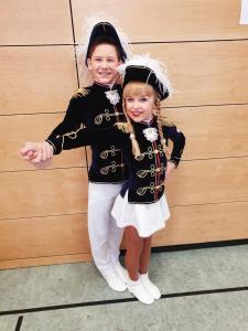 _kl_Josefine Elling & Louis Krömer, Westfalenmeister der Junioren-Tanzpaare