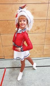 _kl_Katharina Jürgens, Vize-Westfalenmeisterin der Jugend-Tanzmariechen und Quali Halbfinale Nord