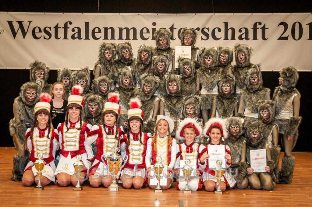 Juniorengarde TK Rote Husaren